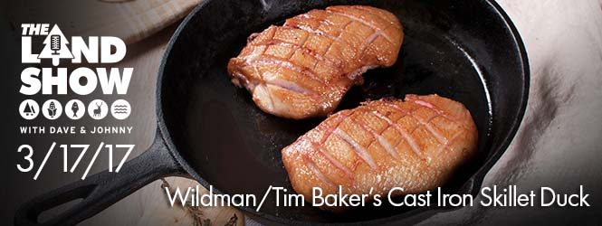 Wildman/Tim Baker's Cast Iron Skillet Duck